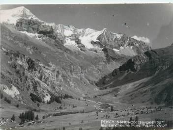 """CPSM FRANCE 73 """"Peisey Nancroix, les Lanchés, le Mont Pourri"""""""