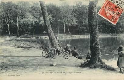 """CPA FRANCE 92 """"Bois de Clamart, Etang de Trivaux"""""""