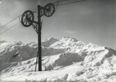 """CPSM FRANCE 73 """"Station de La Toussuire, le téléski du grand Tru"""""""