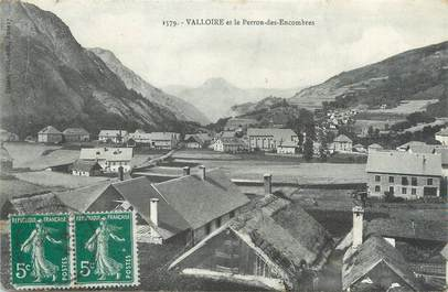 """CPA FRANCE 73 """"Valloire et le Perron des Encombres"""""""