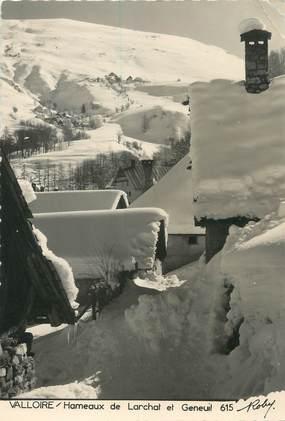 """CPSM FRANCE 73 """"Valloire, hameaux de Larchat et Geneuil"""""""