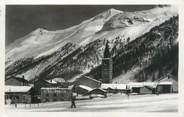 """73 Savoie CPSM FRANCE 73 """"Val d'Isère, les monts de l'Iseran, de la Galise et l'église"""""""