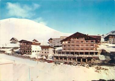 """CPSM FRANCE 38 """"L'Alpe d'Huez, hôtel le Castillan, les Cimes"""""""
