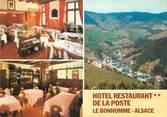 """68 Haut Rhin CPSM FRANCE 68 """"Le Bonhomme, hôtel restaurant de la poste """""""