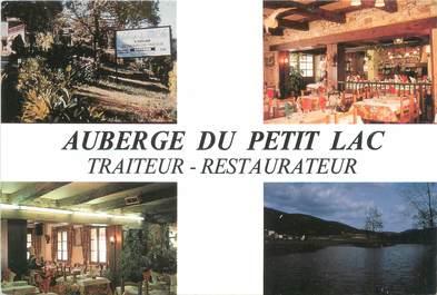 """CPSM FRANCE 81 """"Larroque, auberge du petit lac"""""""