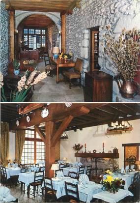 """CPSM FRANCE 45 """"Malesherbes, hôtel restaurant l'Ecu de France"""""""