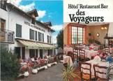 "15 Cantal CPSM FRANCE 15 ""Le Rouget, hôtel des Voyageurs"""