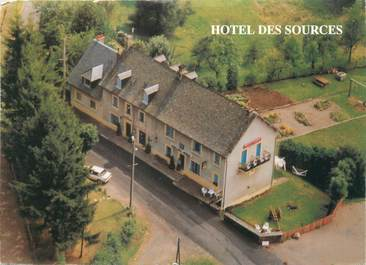 """CPSM FRANCE 15 """"Saint Jacques des Blats, hôtel des sources"""""""