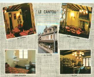 """CPSM FRANCE 15 """"Vieillevie, restaurant le Cantou"""""""