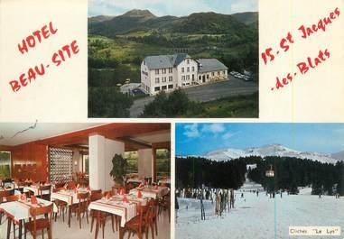 """CPSM FRANCE 15 """"Saint Jacques des Blats, hôtel Beau Site"""""""