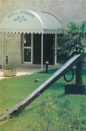 """CPSM FRANCE 17 """"Rochefort sur Mer, hôtel restaurant de la Corderie Royale """""""