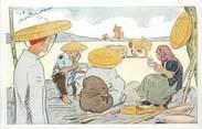 "Asie CPA VIETNAM ""récolte du riz"""