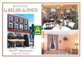 """27 Eure CPSM FRANCE 27 """"Beuzeville, hôtel restaurant le relais de poste"""""""