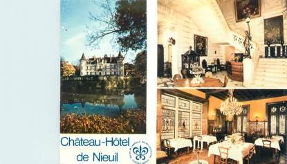 """CPSM FRANCE 16 """"Nieuil, château hôtel"""""""
