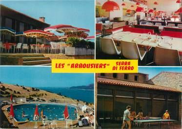 """CPSM FRANCE 20 """"Corse, Serra di Ferro, hôtel les arbousiers"""""""