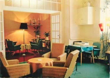 """CPSM FRANCE 12 """"laguiole, hôtel Régis, salon"""""""