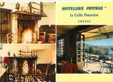 """CPSM FRANCE 23 """"La Celle Dunoise, hostellerie Pascaud"""""""