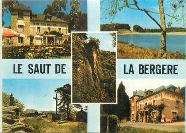 """CPSM FRANCE 19 """"Aubazine, Beynat, hôtel du saut de la Bergère"""""""