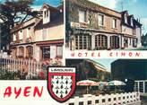 "19 Correze CPSM FRANCE 19 ""Ayen, hôtel Simon"""