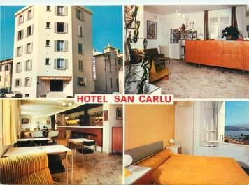 "CPSM FRANCE 20 ""Corse, Ajaccio, Hôtel San Carlu"""