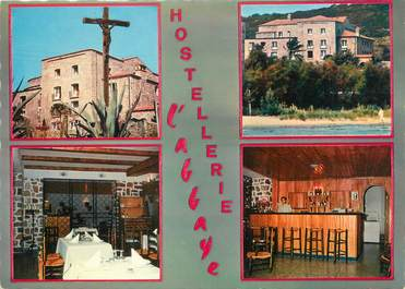 "CPSM FRANCE 20 ""Corse, Calvi, hôtel l'abbaye"""