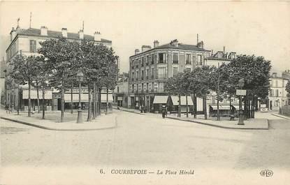 """CPA FRANCE 92 """"Courbevoie, La Place Hérold"""""""