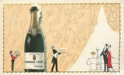 """CPA FRANCE 51 """"Epernay, Georges Fayet"""" / CHAMPAGNE"""