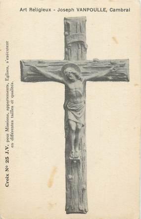 "CPA FRANCE 56 ""Cambrai, Art Religieux"" / CROIX"