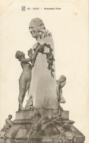 """CPA FRANCE 21 """"Dijon, monument Piron"""""""