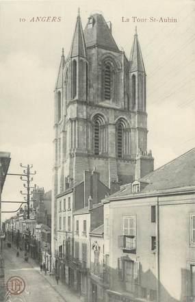 """CPA FRANCE 49 """"Angers, la tour Saint Aubin """""""
