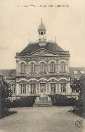 """CPA FRANCE 49 """"Angers, université Catholique"""""""