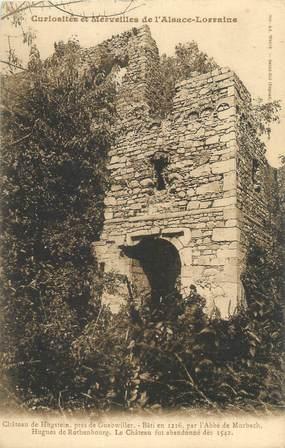 """CPA FRANCE 68 """"Château de Hugstein près de Guebwiller"""""""