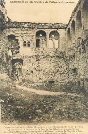"""CPA FRANCE 68 """"Château de Saint Ulrich, salle des chevaliers"""""""
