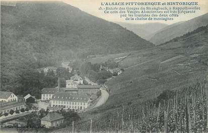 """CPA FRANCE 68 """"Entrée des gorges du Strengbach à Rappoltsweiler""""'"""