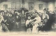 """75 Pari CPA FRANCE 75015 """"Paris, un asile de 150 lits dans la chapelle des catéchismes"""" / INONDATION 1910"""