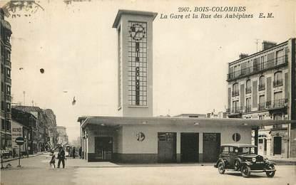 "CPA FRANCE 92 ""Bois Colombes, la Gare"""