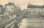 """89 Yonne CPA FRANCE 89 """"Sens, les secours au pont du diable"""" / INONDATION 1910"""