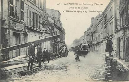 """CPA FRANCE 08 """"Mézières, faubourg d'Arches"""" / INONDATION 1920"""