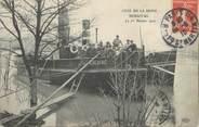 """78 Yveline CPA FRANCE 78 """"Bougival"""" / BATEAU / INONDATION 1910"""