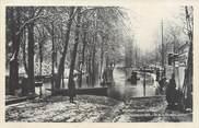 """92 Haut De Seine CPA FRANCE 92 """"Neuilly, l'Ile de la Grande Jatte"""" / INONDATION 1910"""
