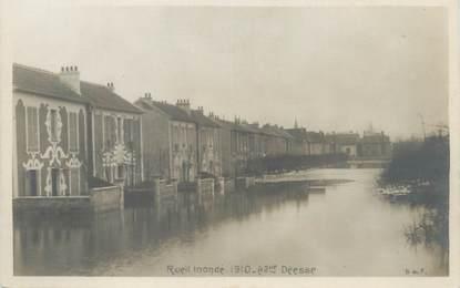 """CPA FRANCE 92 """"Rueil, avenue Déesse"""" / INONDATION 1910"""
