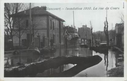 cpa france 92 boulogne billancourt la rue du cours inondation 1910 92 hauts de seine. Black Bedroom Furniture Sets. Home Design Ideas