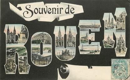 """CPA FRANCE 76 """"Souvenir de Rouen"""""""