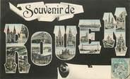"76 Seine Maritime CPA FRANCE 76 ""Souvenir de Rouen"""