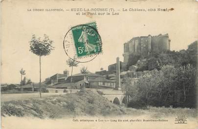 """CPA FRANCE 26 """"Suze la Rousse, le Château"""""""