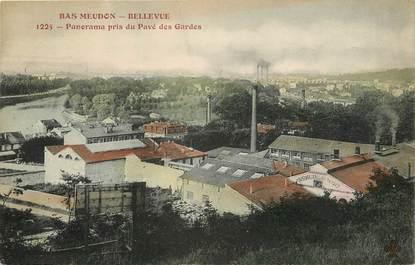 "CPA FRANCE 92 ""Bas Meudon Bellevue"""