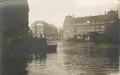 """CARTE PHOTO FRANCE 75 """"Paris"""" / INONDATION 1910"""