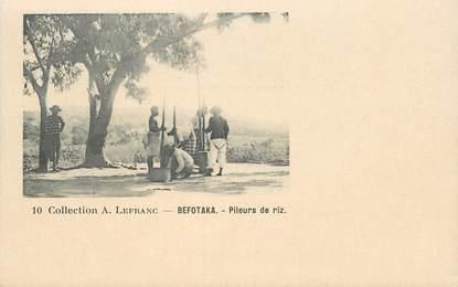 "CPA MADAGASCAR ""Befotaka"" / Collection A. LEFRANC"