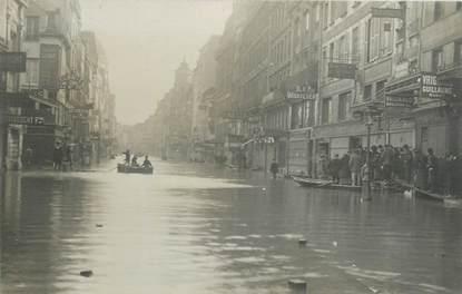 """CARTE PHOTO FRANCE 75011 """"Paris"""" / INONDATION 1910"""