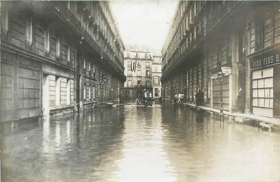 """CARTE PHOTO FRANCE 75 """"Paris """" / INONDATION 1910"""
